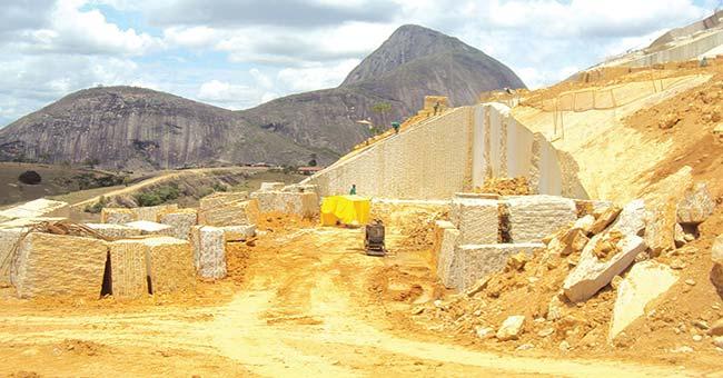 site of quarry